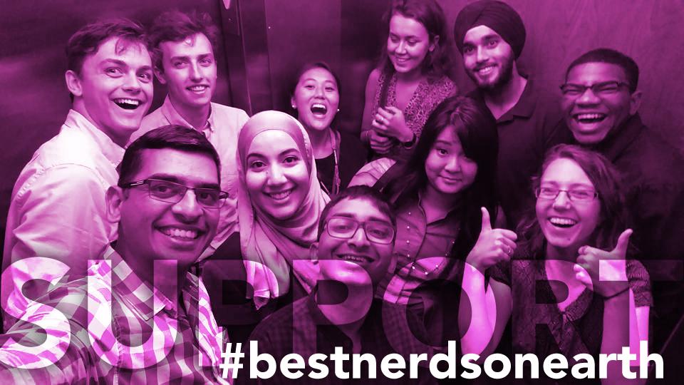 Support the #bestnerdsonearth!