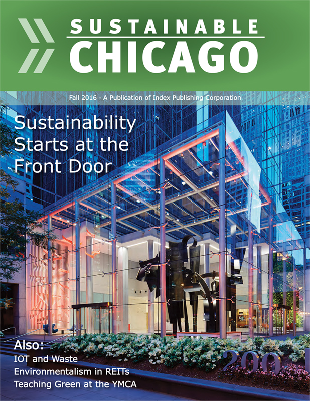 Cover of Sustainable Chicago Magazine