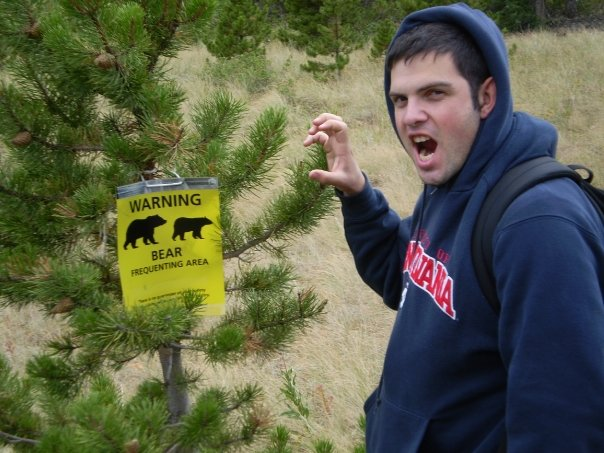 Amitai fights for grizzly bear rights in his spare time.