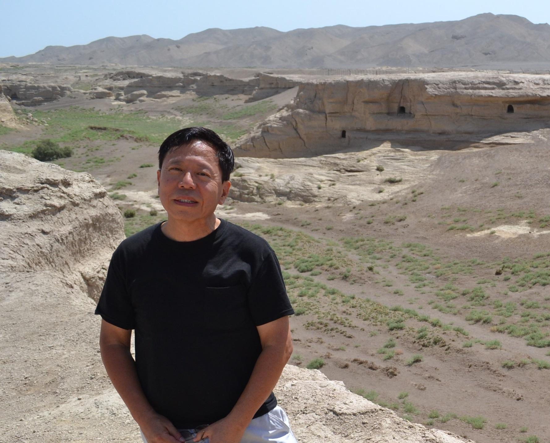 JiaoHe at Turpan in East Turkistan of China.jpg