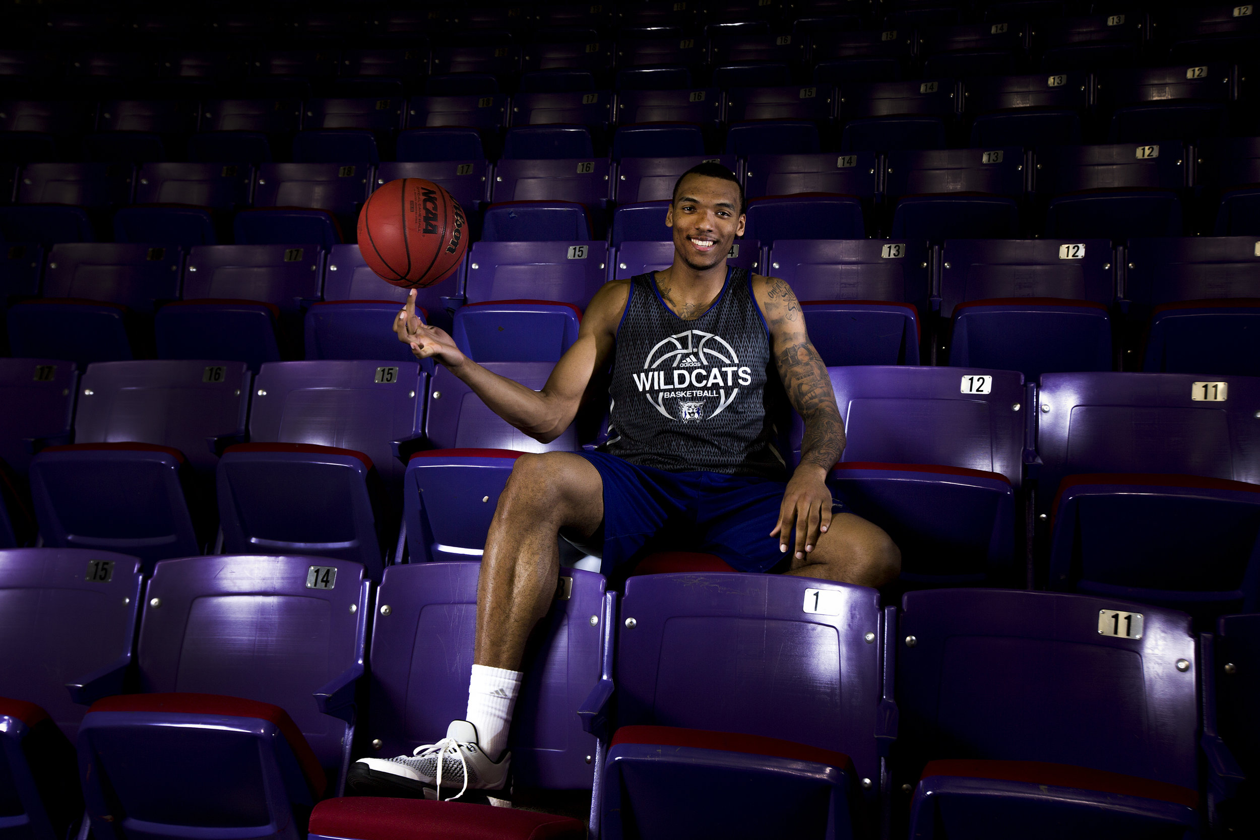 Halfway through the 2015-16 season Weber State's Joel Bolomboy is only one game away from breaking the Big Sky's all-time rebounding record, a record that has been held since the 1970's by Idaho State's Steve Hayes. NBA scouts have taken notice of the seniors play as he is averaging an impressive 18.2 points and 13.6 rebounds per game for the Wildcats leading the team to an 13-5 overall record and 5-0 in conference play.