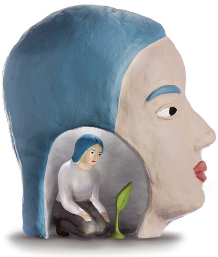 Sculpture by  Rachel Levit . Photography by  Tony Cenicola .