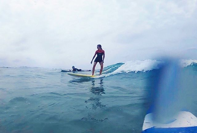 ☝🏽This feeling right here compensates for all the wipeouts (and humiliation 😆) #newbie