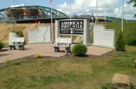 Fort Kent International Bridge