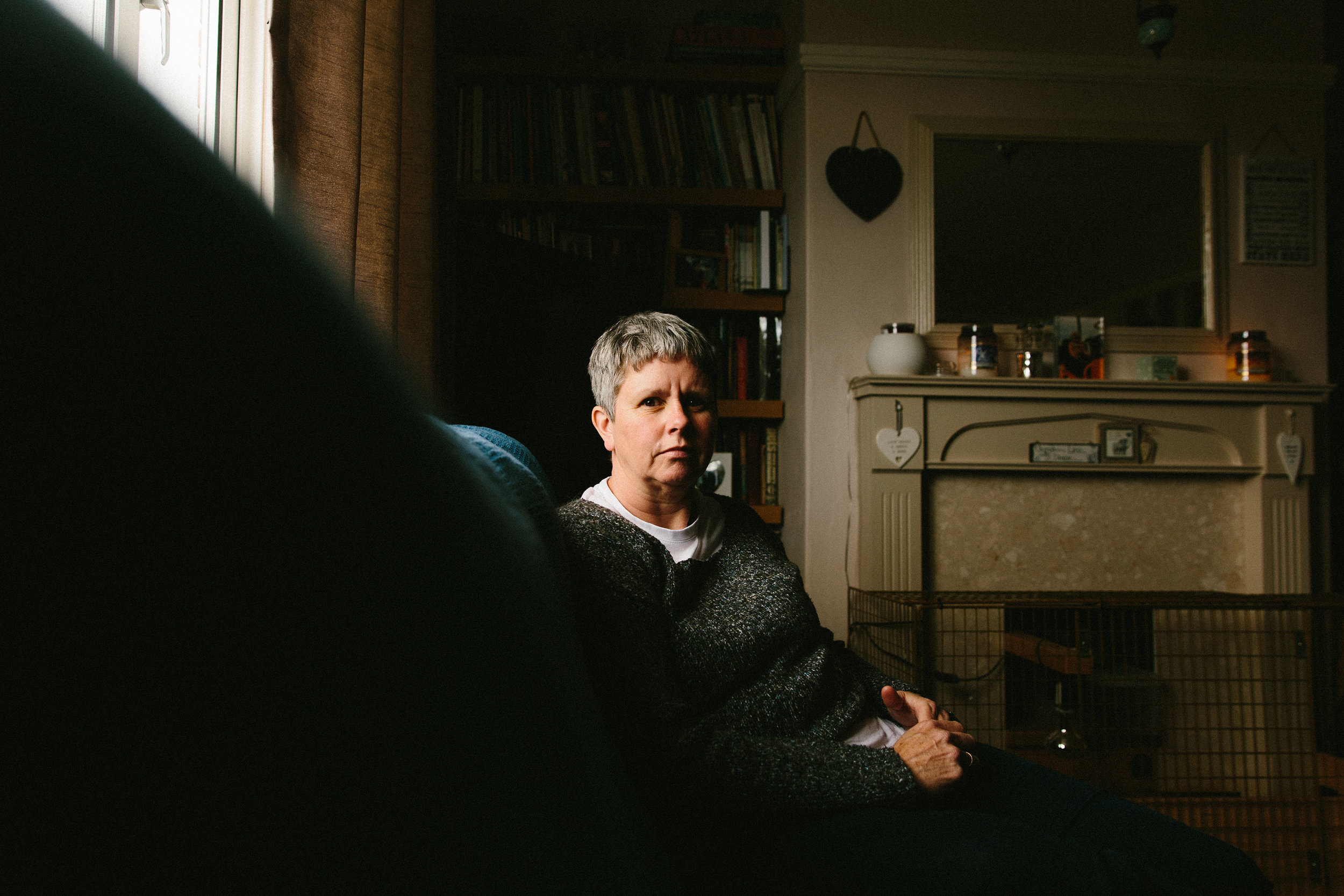 """Jackie Cheetham, from Pickering in North Yorkshire, lives every day of her life in agonising pain. This pain began in 2006, shortly after she was fitted with pelvic mesh as part of a surgical treatment for incontinence. Jackie describes the sensation as """"being cut inside by a cheese wire"""". For months doctors dismissed her pain as psychosomatic and she attempted to take her own life. One in 20 women who responded to a recent survey by the 'Sling The Mesh' campaign group say they have attempted suicide, with many more having suicidal thoughts"""