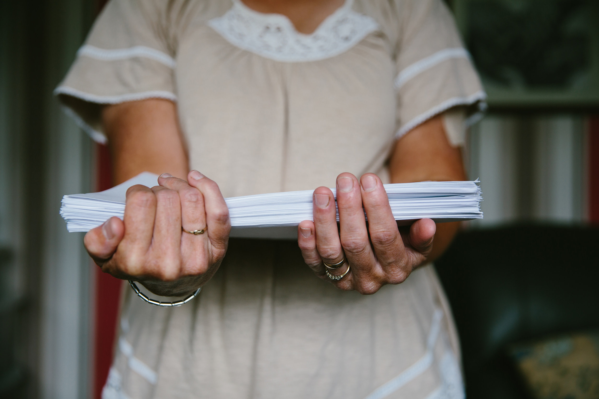 The correspondence relating to her case runs to hundreds of pages. In over a decade of discussion between health professionals, Jackie says her GP has been the only one who has consistently fought her corner. Others refused to believe the extent of her suffering. Some even advocated that she should be sectioned. Doctors initially told her mesh complications were one-in-a-million