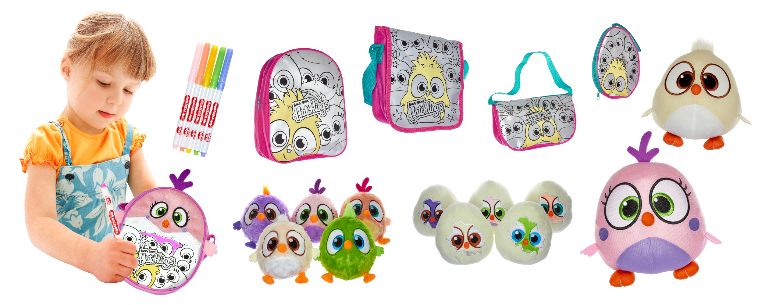 Angry Bird Hatchlings Toys
