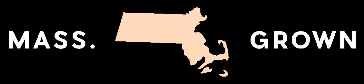 Mass Grown with image of Massachusetts