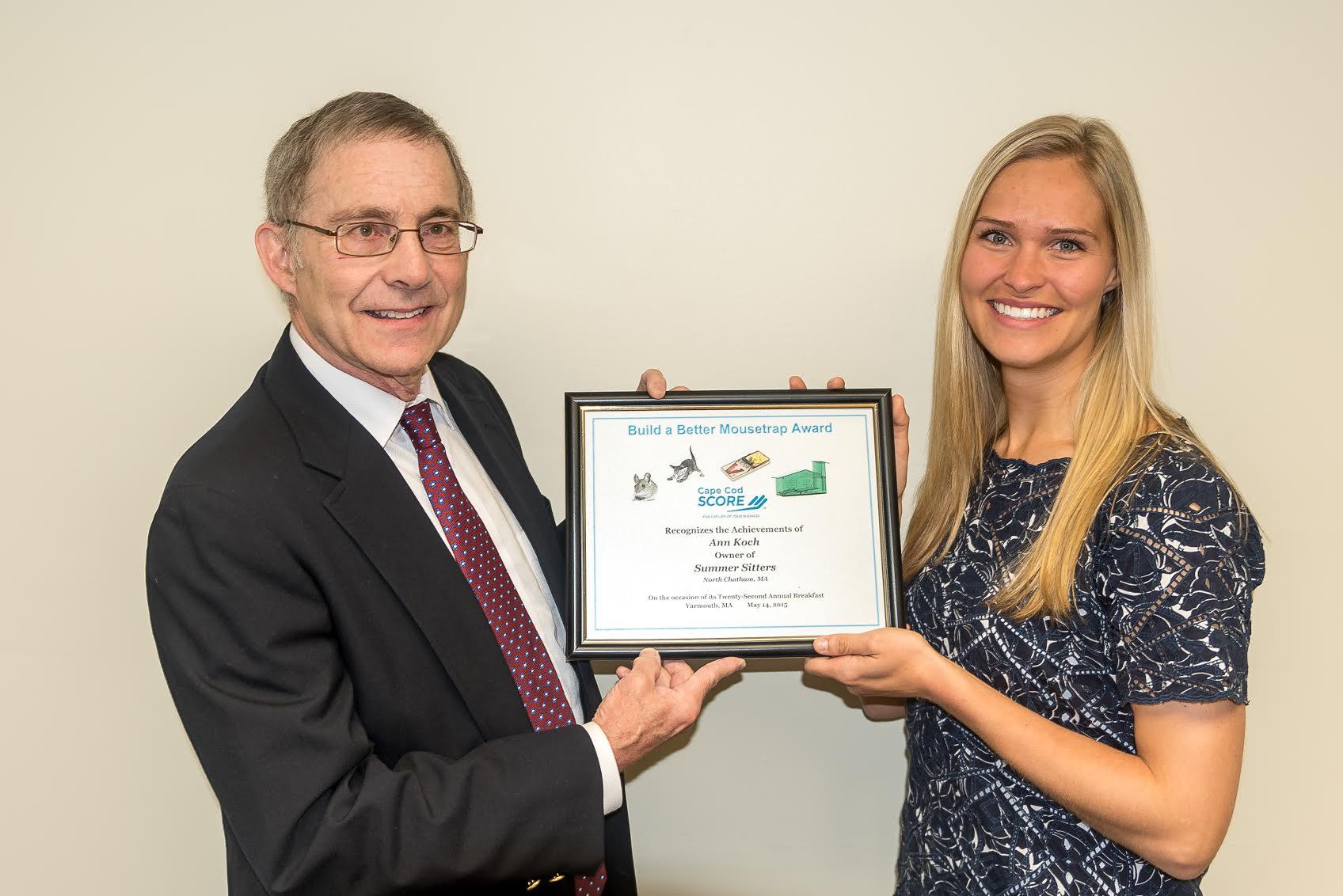 SCORE's Build A Better Mousetrap Award