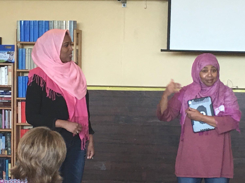 Bainbridge Island with The Unitarian Universals group! Ilays and Fathia