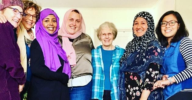 A beautiful day of Shalom Salaam sisterhood. ✌🏾becomes us❤️🥳🎶😍