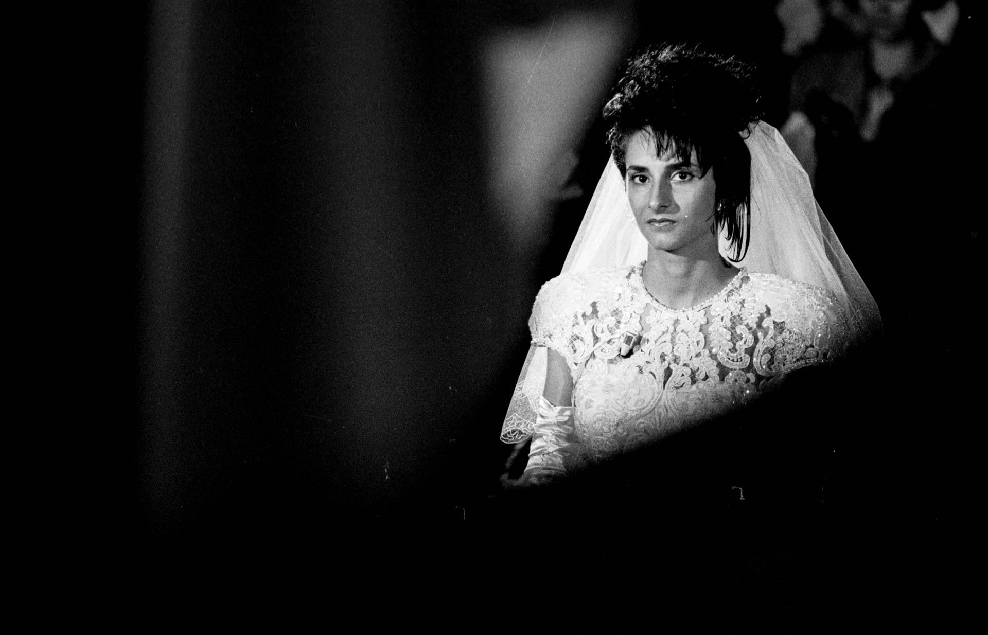 Matera, Italy - 19 October 1991 Italian Wedding.