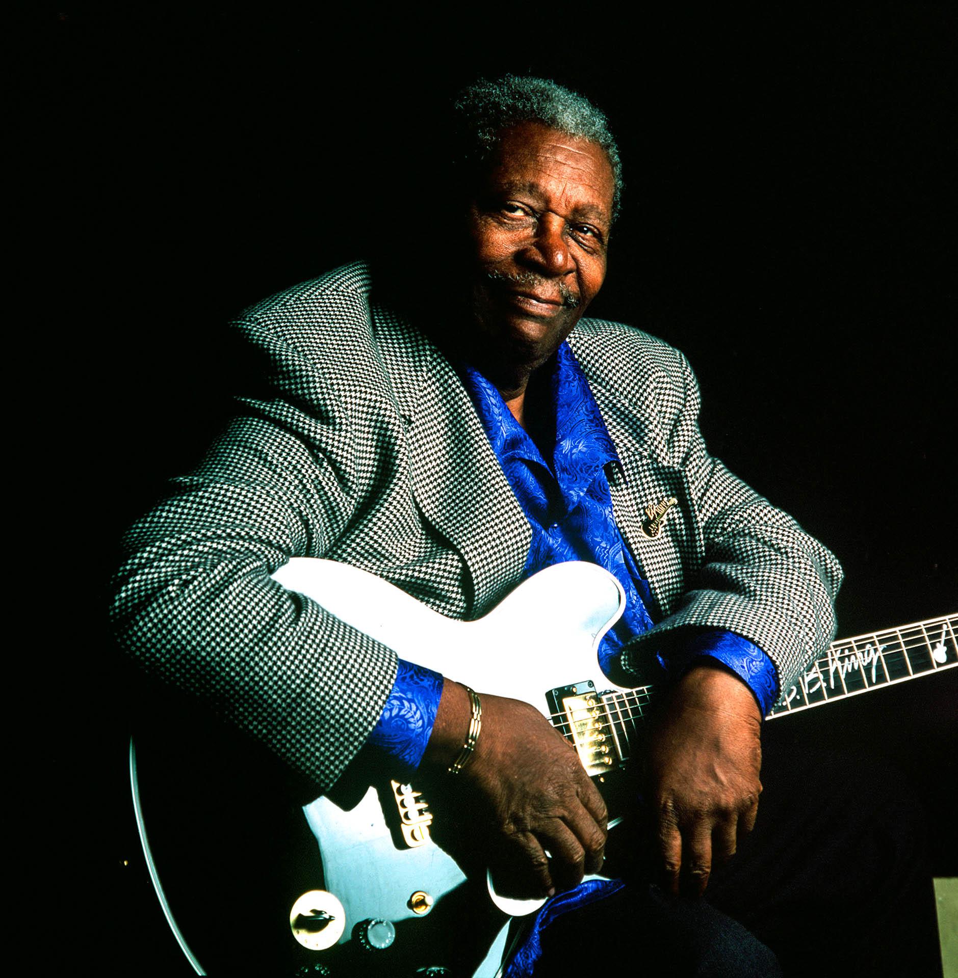 Pistoia, Italy - July 13, 2000American bluesman B.B. King.© GIANNI GIANSANTI