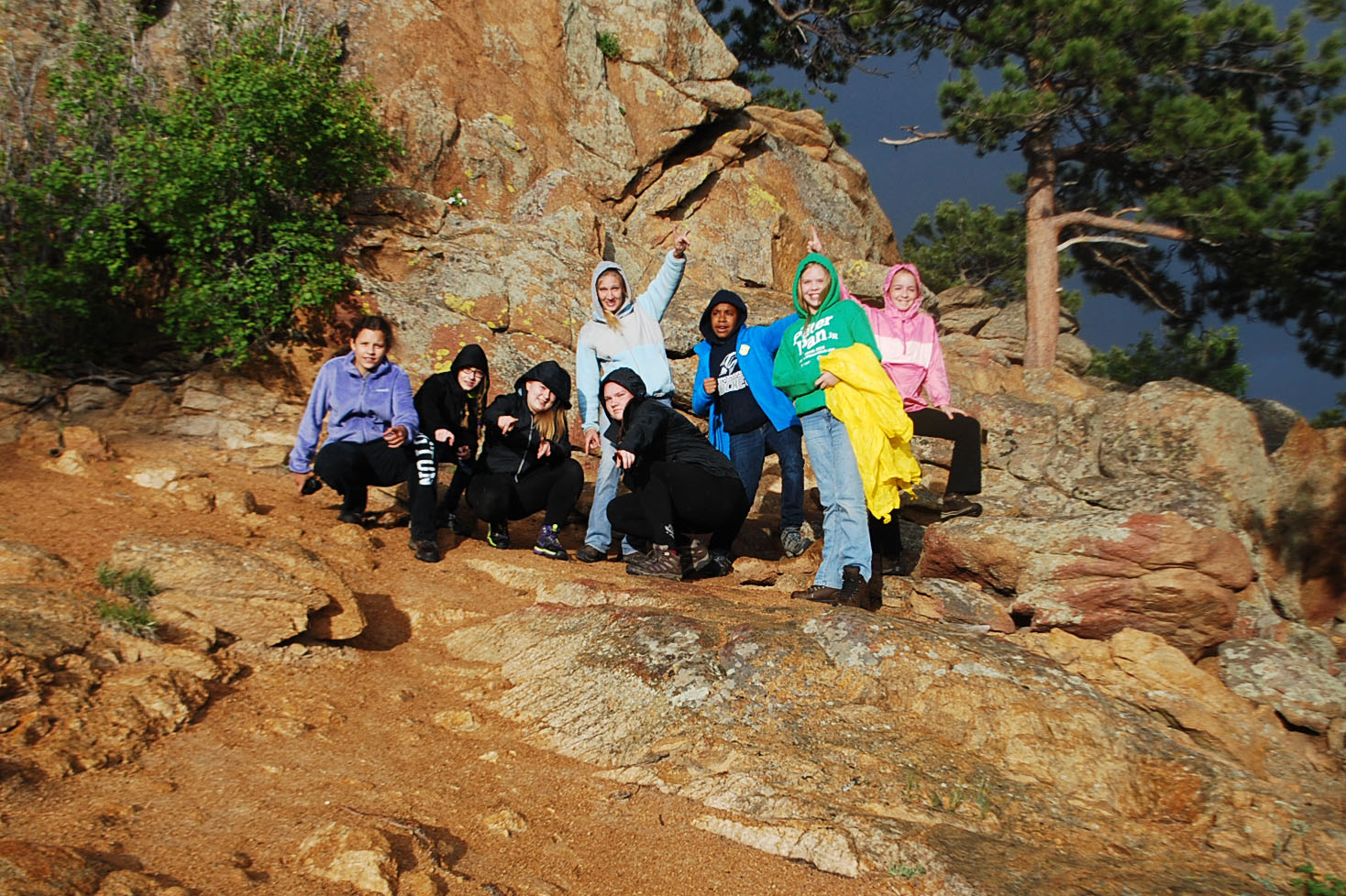 My girl scout troop exploring Rocky Mountain National Park - Estes Park, Colorado--Taking 7 girls through 5 states in 10 days is an experience I will never forget! Push yourself to live each day to the fullest.