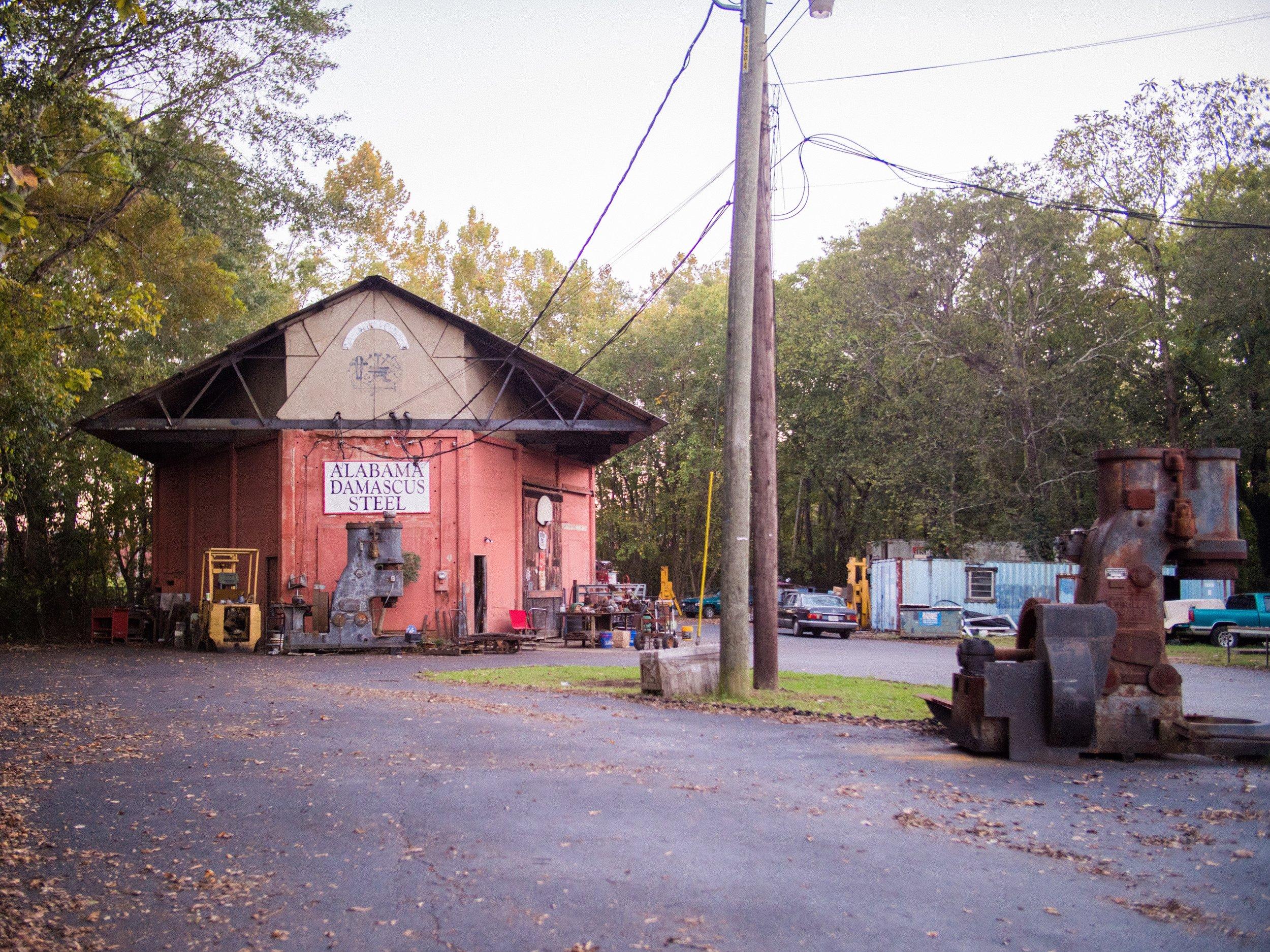Alabama Damascus Steel.JPG