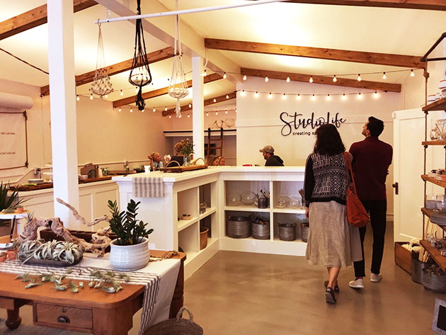 StudioLife offers retail, classes, and event rentals. Photo by Jennifer Astion.