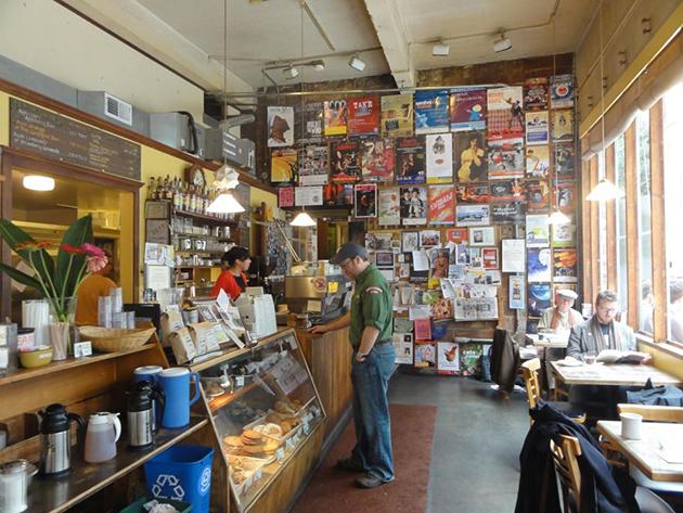 Café Allegro, interior. Photo courtesy of Café Allegro.