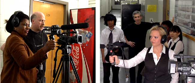 Filmmaking Class at Rekindle School.