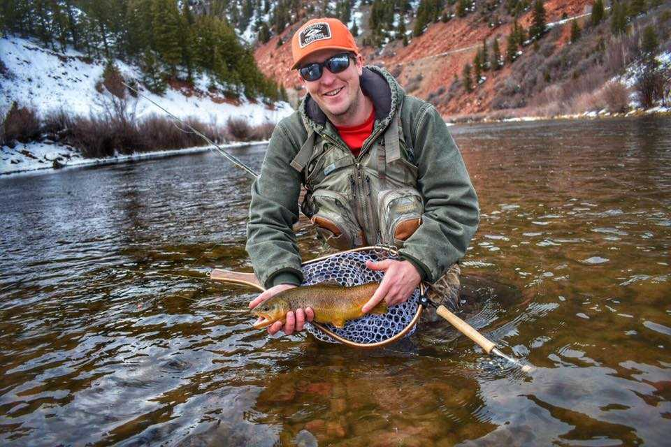 Bryan Smith:  Hi, my name is Bryan but most people call me Smitty. I've been fly fishing for about 20 years but have really been getting after it the past 10 years. Nothing makes me happier than rippin' a streamer across a huge river. I'm native to Colorado and do most of my fishing here and in Wyoming. I went to Colorado State University and have degrees in Natural Resource Management and Forestry with a concentration in fire science. I was a wild land firefighter for 7 years and now I am a full time firefighter with the Poudre Fire Authority in Fort Collins. I live in Wellington with my my girlfriend Chelsea, who is a Mayfly Project lead with me. Fly fishing is a huge part of my life and I'm excited to share my passion with anyone that wants to give it a try.