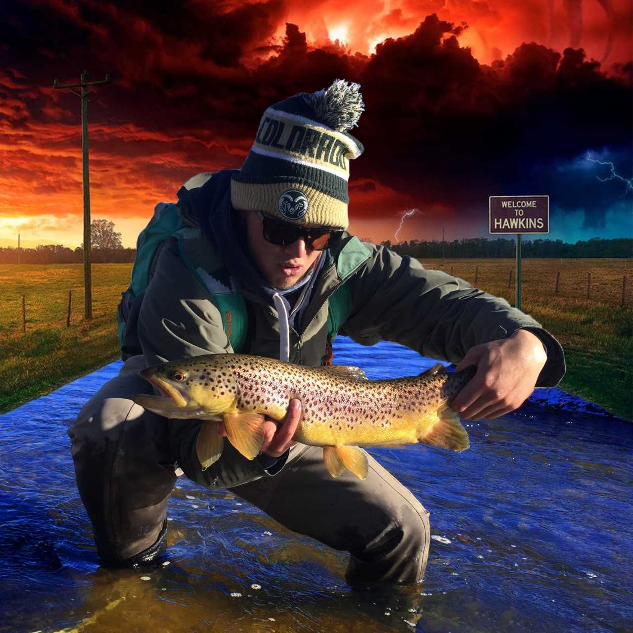 """Bradey Hall  Born in Texas and raised in Colorado. Bradeys loves the outdoors and is stoked to be able to teach fly fishing to others. Bradey began fishing at a young age but it wasn't until his Senior year of College he began fly fish. Currently located in Colorado he is our lead mentor in Colorado Springs. Bradey loves fishing rivers all over Colorado but would pick Cheeseman Canyon as his favorite place to fish.   """"It's the balance of peace and chaos that got me addicted to fly fishing"""" - Bradey Hall"""