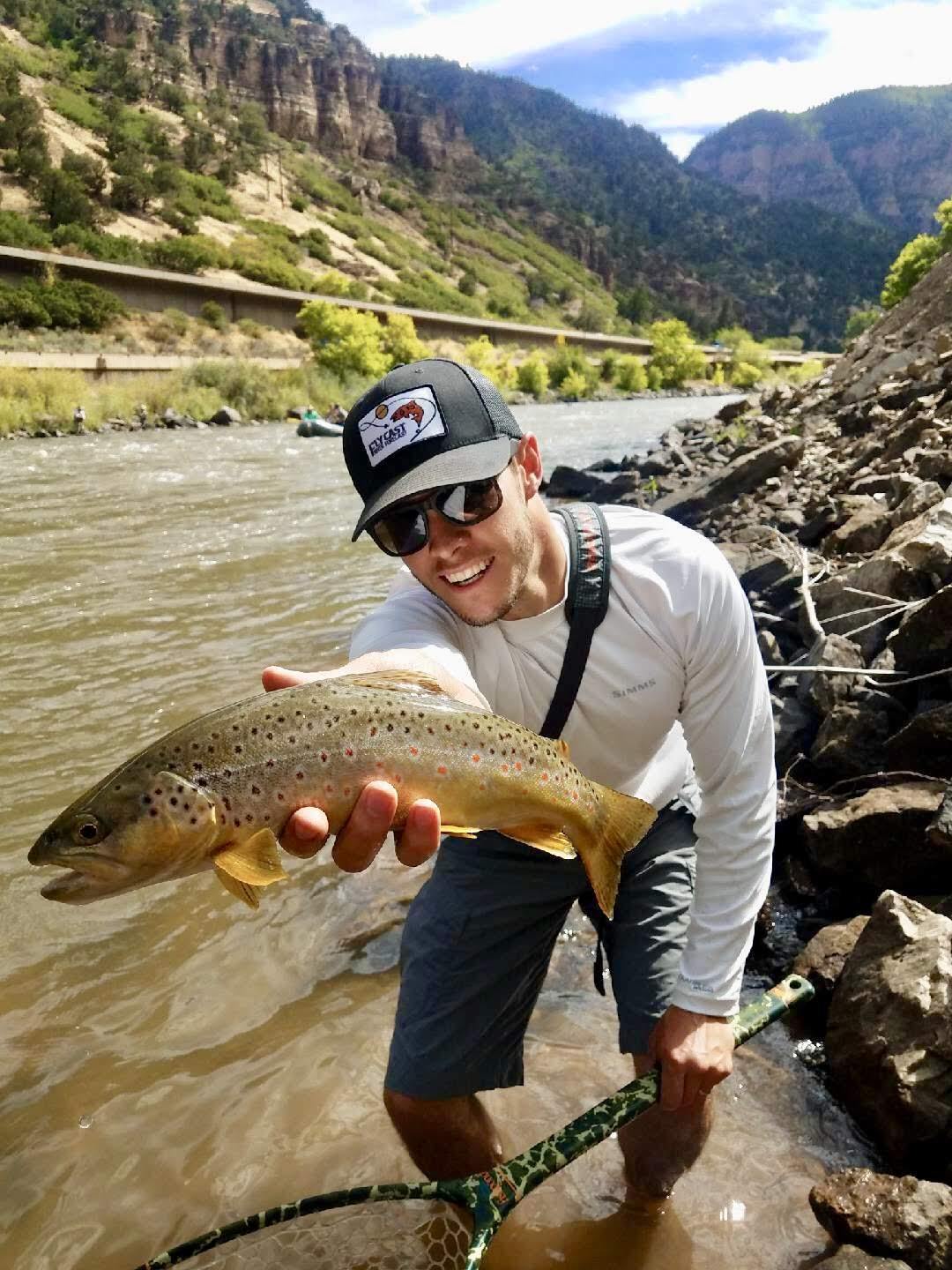 Travis Coe  Travis is a Colorado native who grew up in Evergreen. Growing up, baseball was his passion, but once he graduated from Colorado State University, fly fishing became his new addiction. Now, every chance he gets, he escapes to the river to enjoy the scenery and to challenge himself to become a better angler. Travis enjoys teaching his friends and co-workers the art of fly fishing and has had so much fun doing so, he and his good friend started a fly fishing reporting and forecasting website called FlyCast River Forecast that helps anglers of all skill levels have a fun day on the river. Travis is very excited about the opportunity to share his passion for fly fishing and the outdoors through the Mayfly Project.