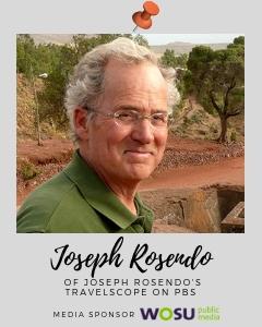 Travel specialist Joseph Rosendo