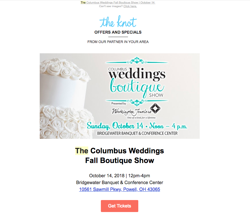 The Knot Email