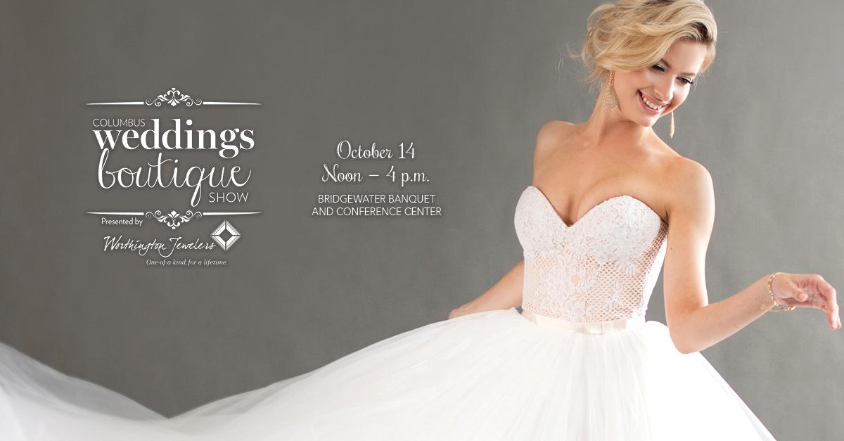 October Columbus Wedding Boutique Ad