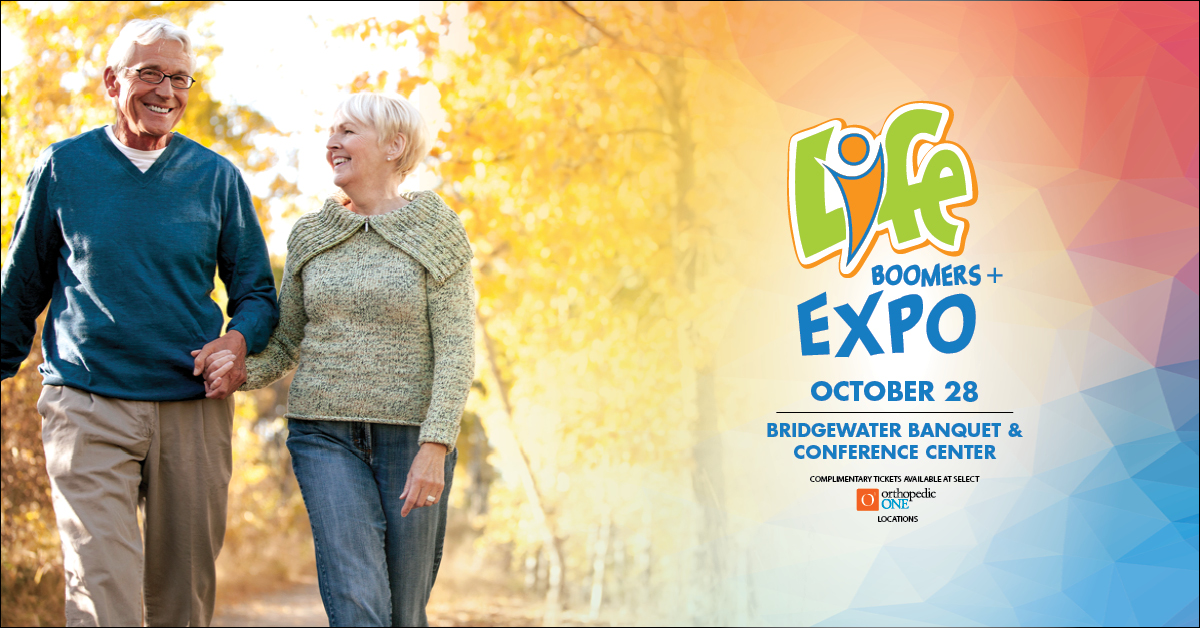 LIFE Expo for Boomers+ Facebook Ad