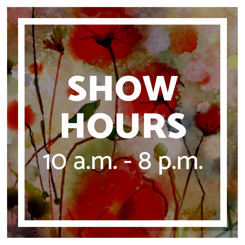 saturday hours for home and garden show