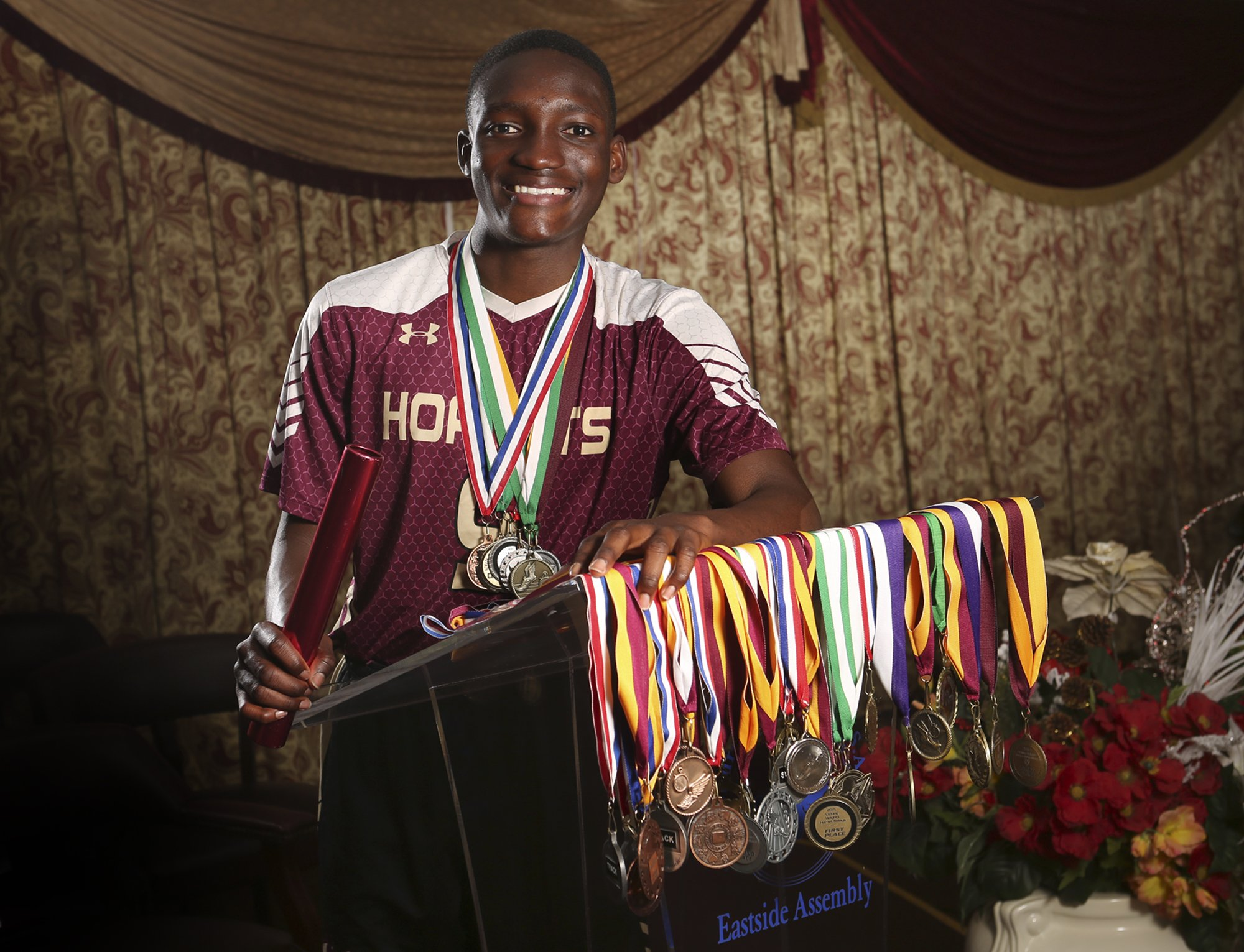 Nathaniel Amoah - Wolfe Associates First Runner-Up Male