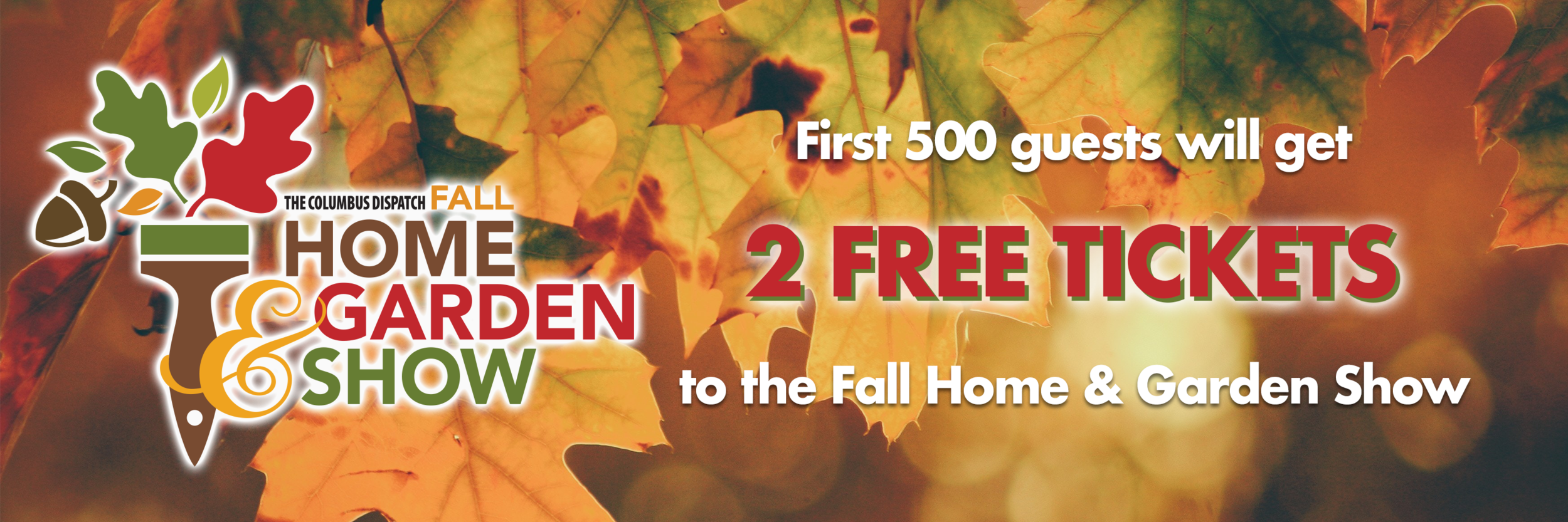 Fall home and garden show