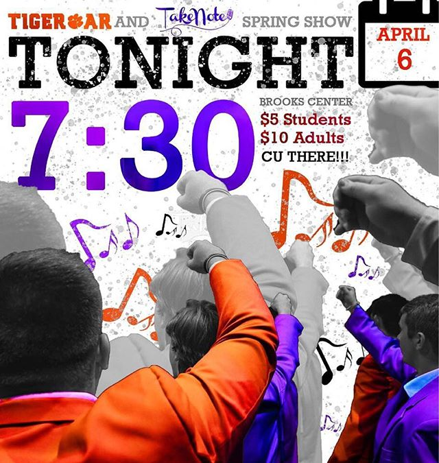 TONIGHT IS THE NIGHT!!! Tickets in bio!! #spingshow #cuthere #gotigers