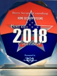 Byers Security Consulting Receives 2018 Best of Oakland Award