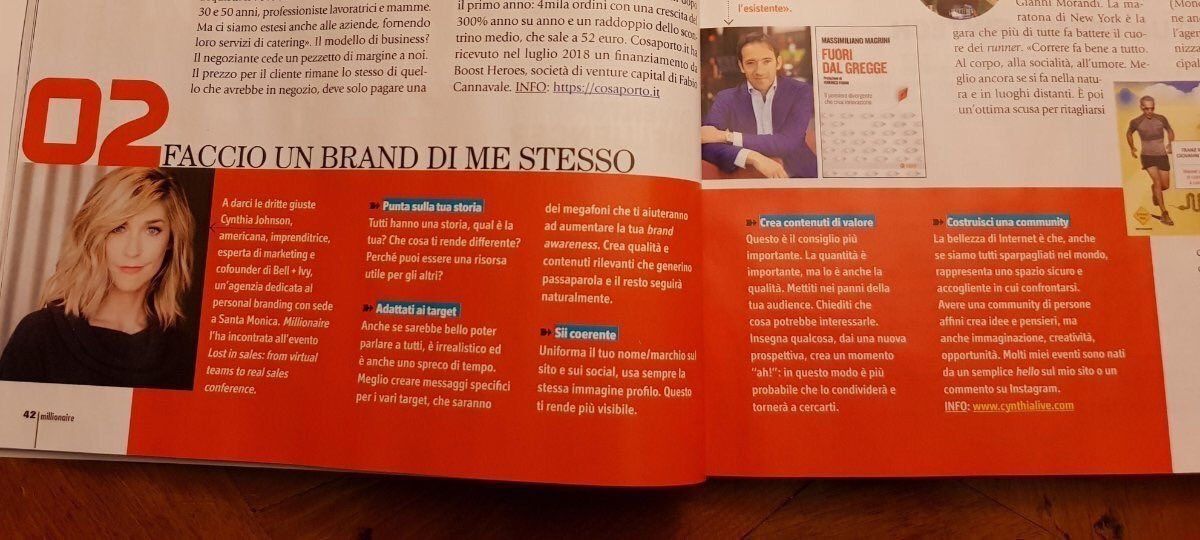 Print Publication - MILLIONAIRE MAGAZINE ITALIA