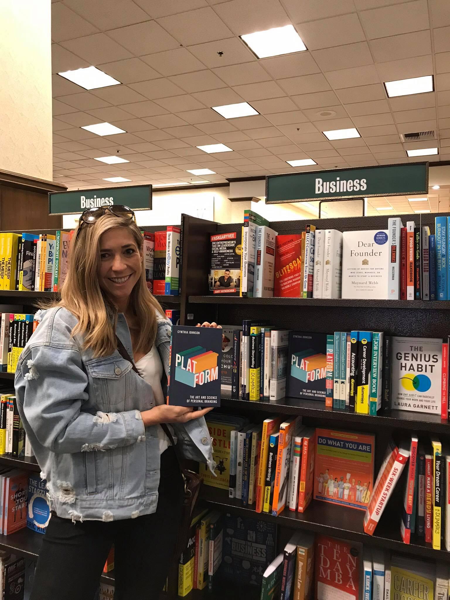 PLATFORM Book in Barnes & Noble