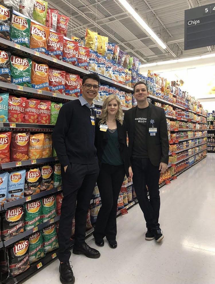 Zachary Lones with Walmart Associates
