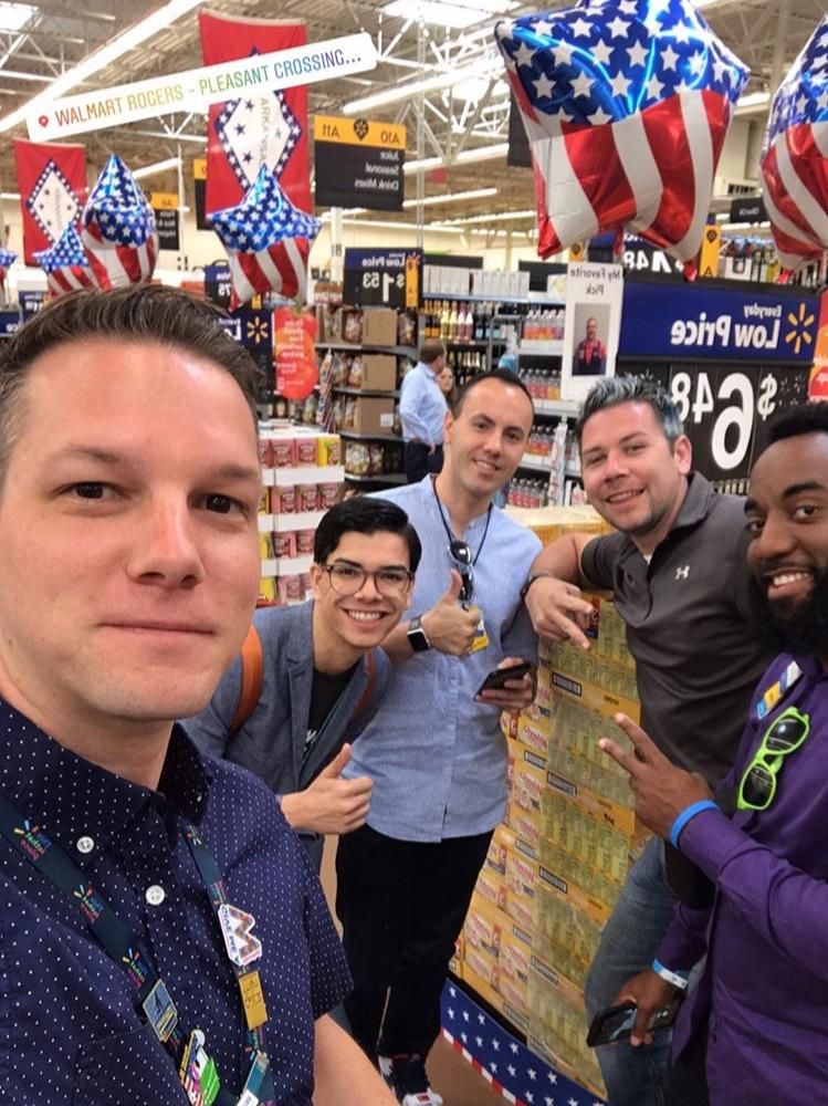 Zachary Lones at Walmart Pleasant Crossing