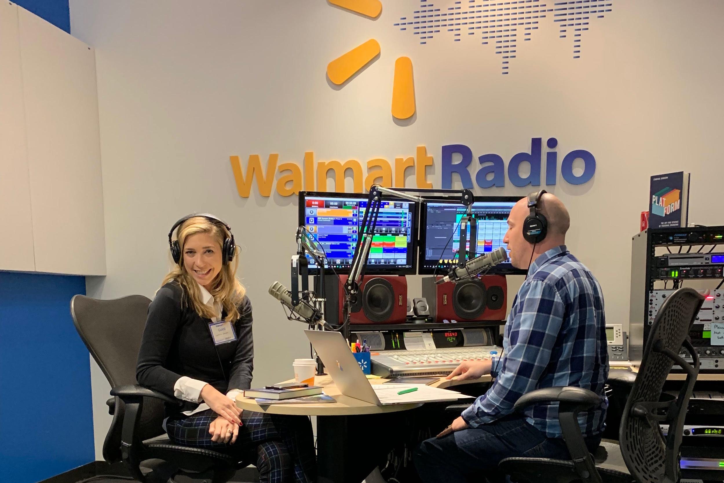 Cynthia Johnson- Walmart Radio