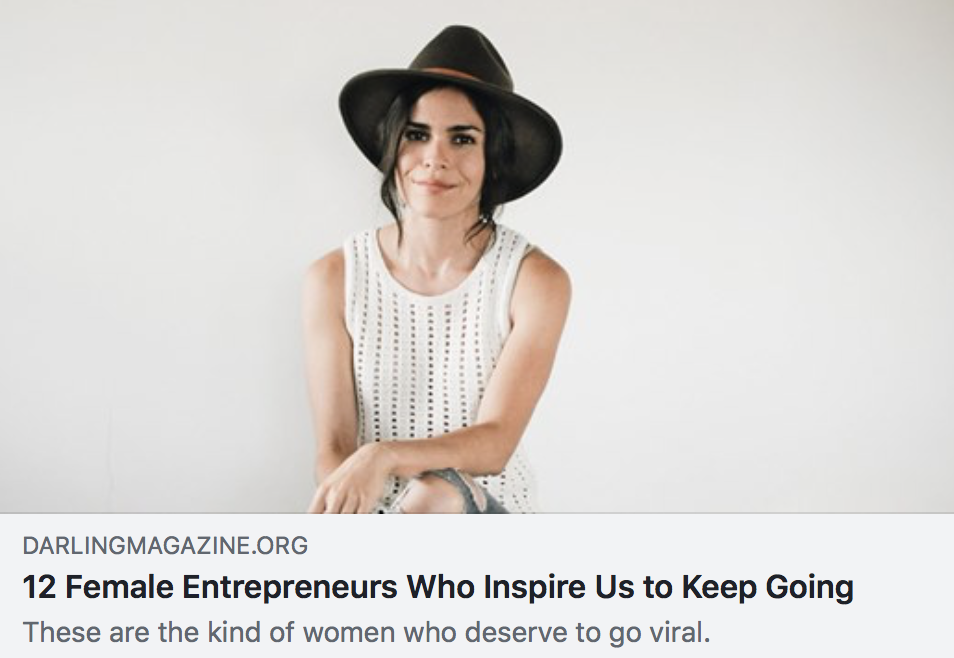 12 Female Entrepreneurs Who Inspire Us to Keep Going - DARLING MAGAZINE