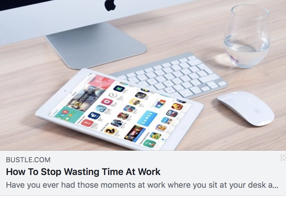 How To Stop Wasting Time At Work & Actually Be Productive - BUSTLE