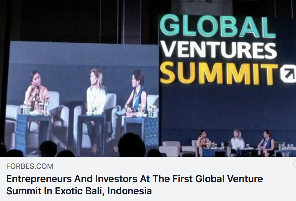 Entrepreneurs And Investors At The First Global Venture Summit In Exotic Bali, Indonesia - FORBES BALI