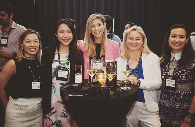 I love this photo taken at @riseconfhq in Hong Kong earlier this month. These are boss ladies from Hong Kong, Amsterdam, Singapore, Canada, and the USA. We found each other at the cocktail hour during #RiseConf's Private roundtable event, F.ounders X. These ladies represent startups in Insurance, banking, technology, and marketing. I'm so honored to be standing with them and so happy to see the progress being made in STEM by women like them. 👩🏼💻👩🏻⚖️👩🏽🚀👩🏾🔬👩🏭 ___ 👇🏻I want to hear from you! What is your passage and what what are you working on? Most importantly, how can we help?  ___ #MondayMotivation #closethegap #womenhelpingwomen #workforchange #hongkong #riseconf2019 #bossgirls #pavetheway #goingglobal
