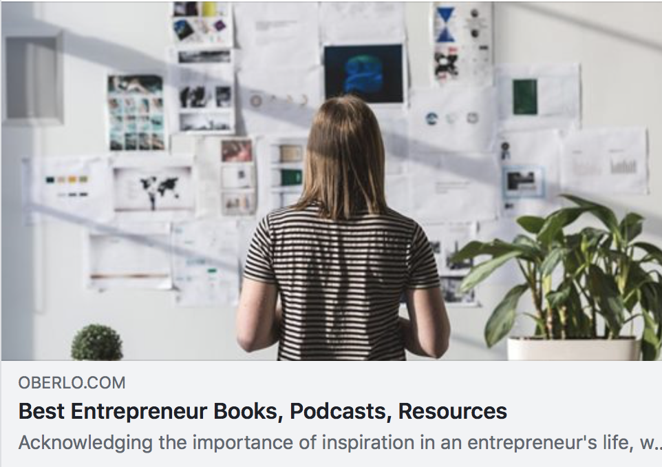 Best Entrepreneur Books, Podcasts, Resources - Oberlo