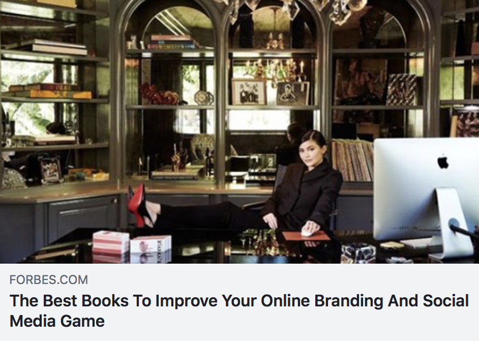 The Best Books To Improve Your Online Branding And Social Media Game - FORBES