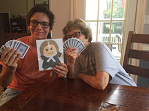Playing cards in Peachtree city, GA!