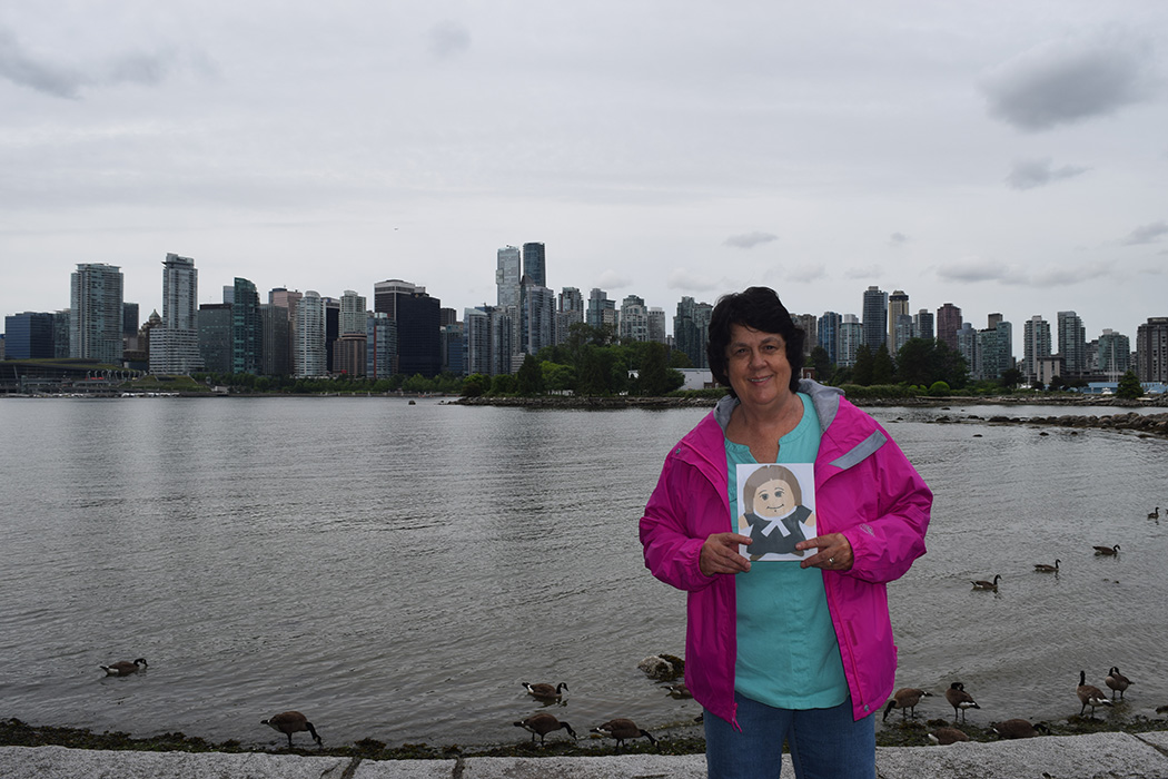 In Vancouver, Canada