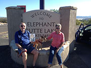 Elephant Butte Lake State Park, NM. Robert and Mary Downs