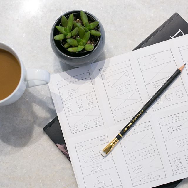 Sketching up some wireframes for a new website today. 📝Sometimes in the design process we tend to over complicate things or get stuck once we are on the website. It's such a time saver to just work with pen and paper first to figure out the structure and layout of a site and figure out the smaller details later. ⠀⠀⠀⠀⠀⠀⠀⠀⠀ ⠀⠀⠀⠀⠀⠀⠀⠀⠀ •⠀⠀⠀⠀⠀⠀⠀⠀⠀ •⠀⠀⠀⠀⠀⠀⠀⠀⠀ •⠀⠀⠀⠀⠀⠀⠀⠀⠀ •⠀⠀⠀⠀⠀⠀⠀⠀⠀ •⠀⠀⠀⠀⠀⠀⠀⠀⠀ •⠀⠀⠀⠀⠀⠀⠀⠀⠀ #covecreative #covewebdesign #covedesign #visualmarketingstudio #webdesignstudio #graphicdesign #progressoverperfection #workanywhere #typography #studiolife #brandstylist  #austin #webdesign #beingboss #smallbusiness #creativelifehappy #creativeentrepreneur #womeninbusiness #inspo #brandrefresh #newbranding #rebranding #tellyourstory #creativeconsultant #branding #austinbranding #austinwebdesign #corporateidentity #newwebsite #visualidentity