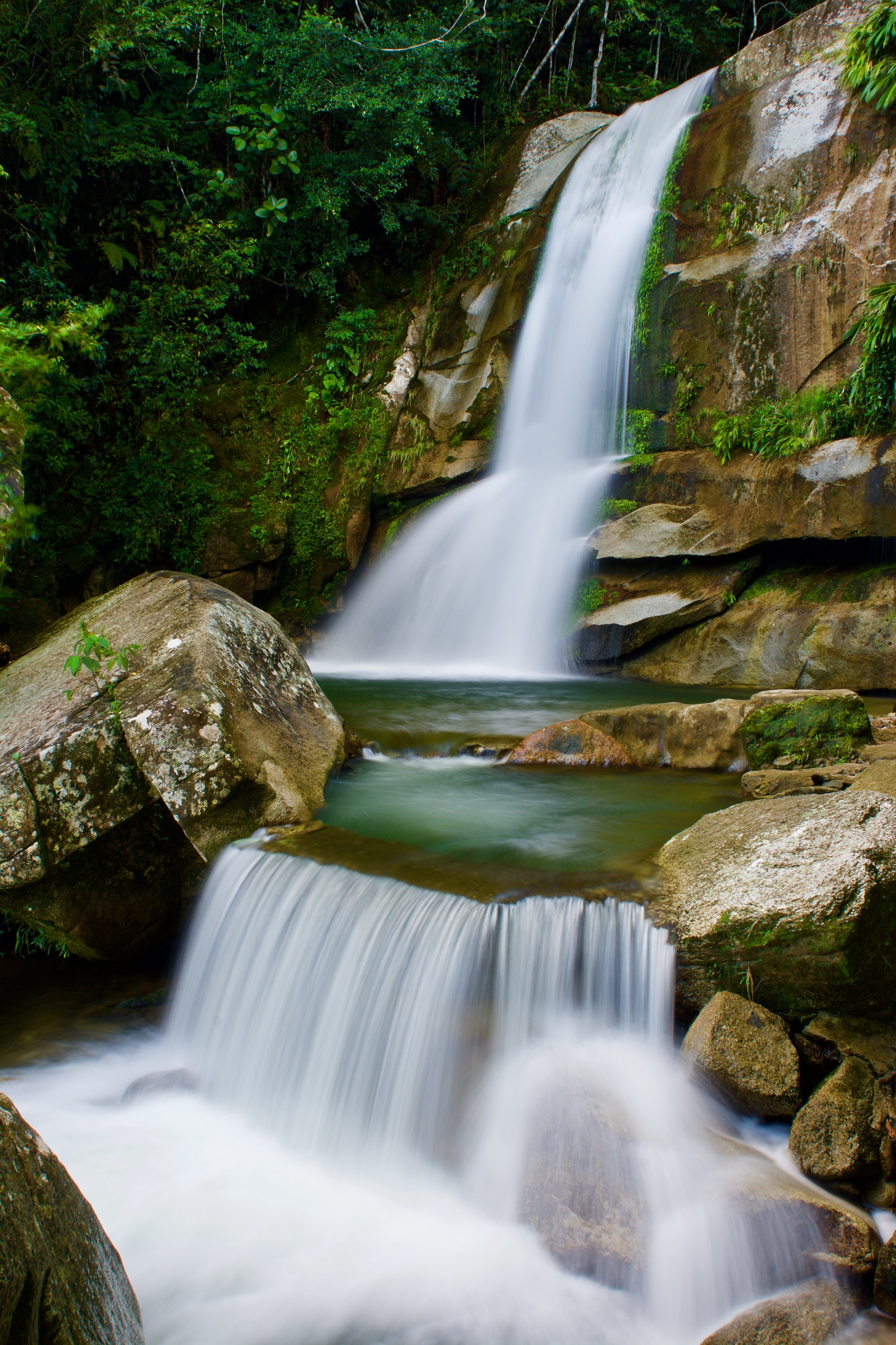 Waterfall, San Carlos